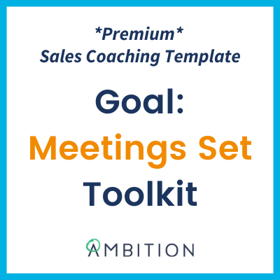sales coaching template ambition