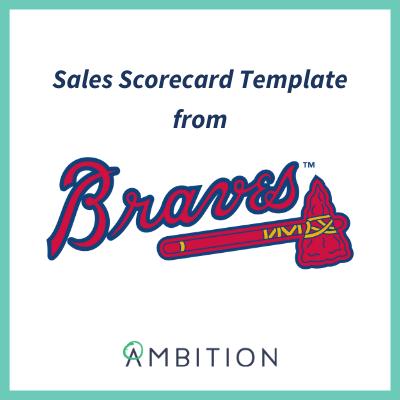 sales scorecard template braves