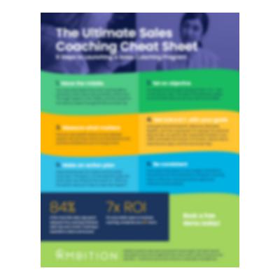 Sales Coaching Cheat Sheet